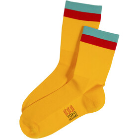 Topo Designs Sport Chaussettes, yellow
